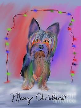 A Yorkie Merry Christmas by Janice Abel