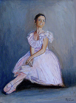 A Young Ballerina by James Gallagher