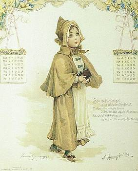 A Young Puritan by Reynold Jay