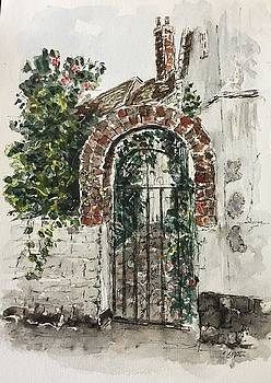 A Garden Gate by Stephanie Sodel