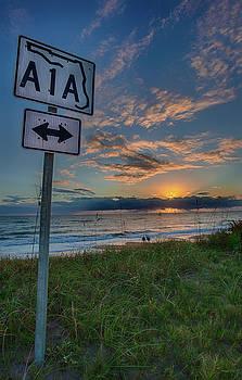 A1A Sunrise by Dillon Kalkhurst