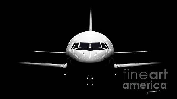 A320 clair obscur by Thibault Cernaix