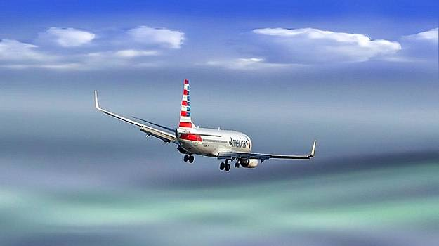 AA DCA Landing by William Bosley