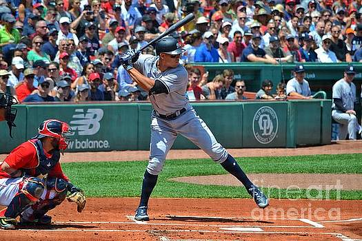 Aaron Judge at the Plate by SoxyGal Photography