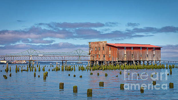 Abandon Cannery Astoria by Jerry Fornarotto