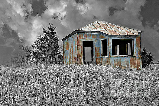 Abandon Railroad Shack by Kathy M Krause