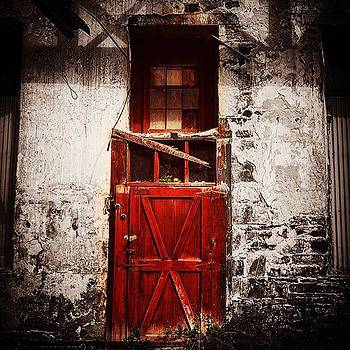 Door In Abandoned Building by Sharon Halteman