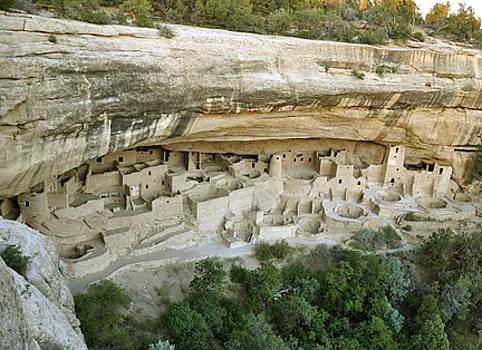 Abandoned at Mesa Verde by Jennifer Ferrier