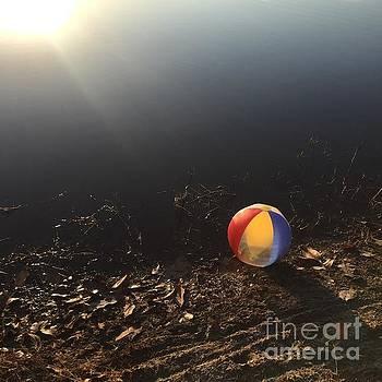 Abandoned Beachball by Robin Maria Pedrero