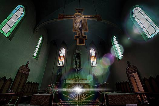 Enrico Pelos - ABANDONED BLUE CHURCH - Chiesa Blu abbandonata