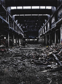 Abandoned Building Interior Architecture Photograph by Dylan Murphy