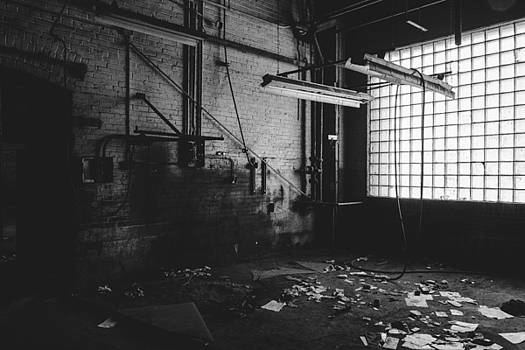 Abandoned Building Interior by Dylan Murphy
