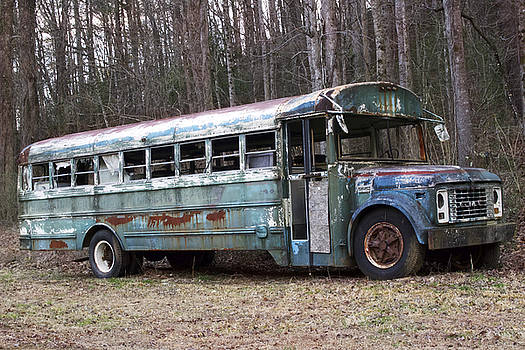 Abandoned Bus by Katherine Klauber
