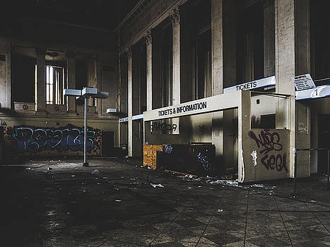 Abandoned Bus Station by Dylan Murphy