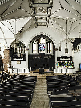 Abandoned Church. Dilapidated Church In St. Louis by Dylan Murphy