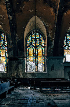 Abandoned Church Interior - Saint Louis, MO by Dylan Murphy