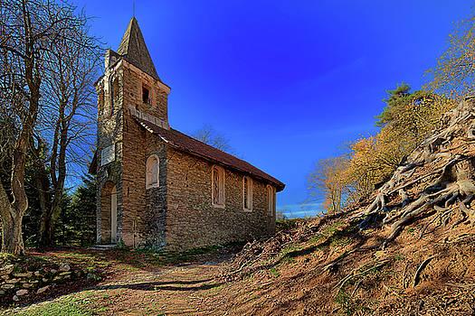 Enrico Pelos - ABANDONED CHURCH OF ABANDONED VILLAGE - chiesa abbandonata di paesino abbandonato