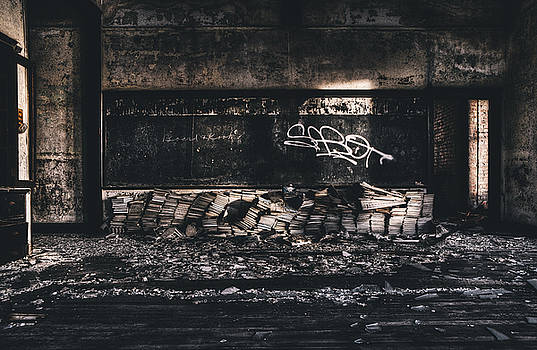Abandoned Classroom. Abandoned School Interior. by Dylan Murphy