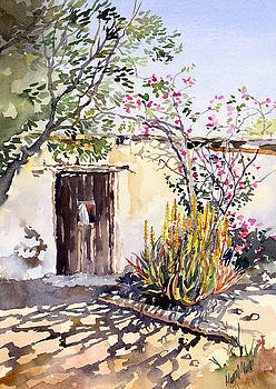 Abandoned Cottage by Margaret Merry