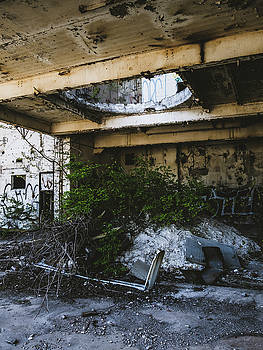 Abandoned Factory Exterior by Dylan Murphy
