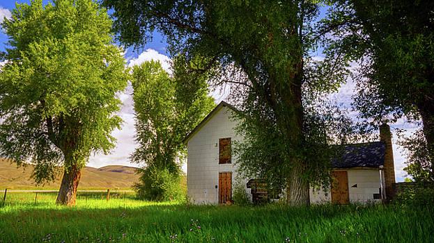 John De Bord - Abandoned Farm House In Colorado