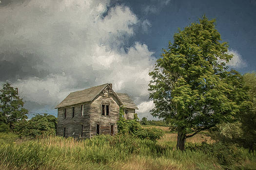 Abandoned Farmhouse by Guy Whiteley