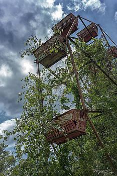 Abandoned Ferris Wheel by Travis Rogers