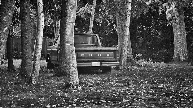 Abandoned Ford Truck by Kate Hannon