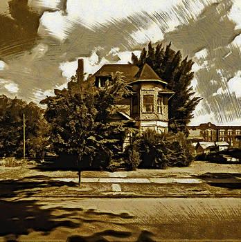 Abandoned Home Detroit by Mario Carini