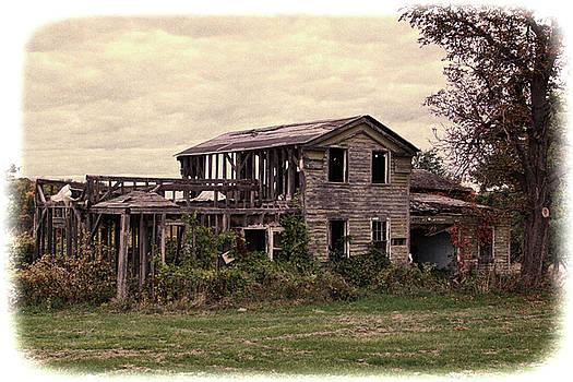 Abandoned home, upstate New York by Gerald Salamone