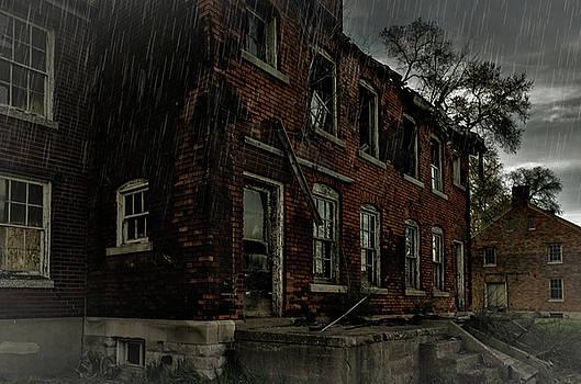 Abandoned House - Historic Fort Wayne Detroit by Winnie Chrzanowski
