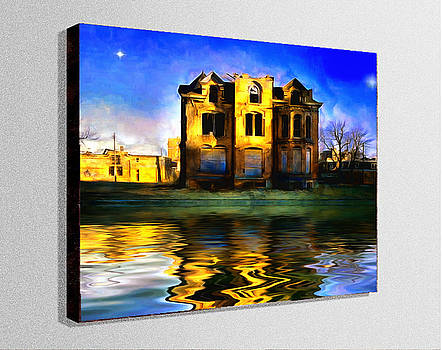 Abandoned House on the Water by Mario Carini
