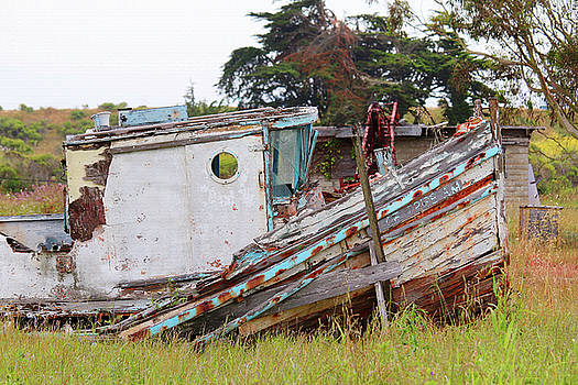 Art Block Collections - Abandoned in Moss Landing