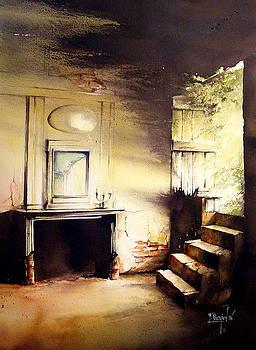 Abandoned light by Fabien Petillion