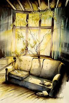 abandoned light II by Fabien Petillion