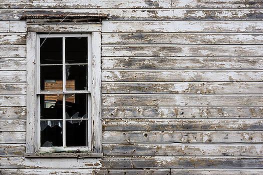 Abandoned Montana Cabin by Steve Gadomski