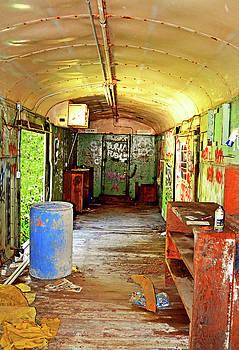 Abandoned Rail Car 002 by George Bostian