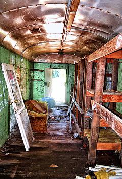 Abandoned Rail Car 003 by George Bostian