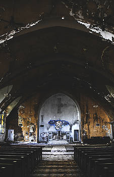 Abandoned Church Interior by Dylan Murphy