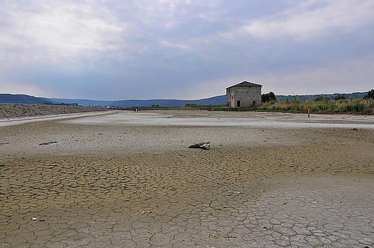 Abandoned Salt Pan by Matjaz Preseren