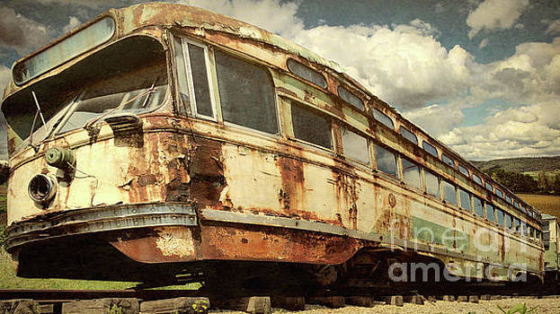 Abandoned San Francisco Street Car  by L Wright