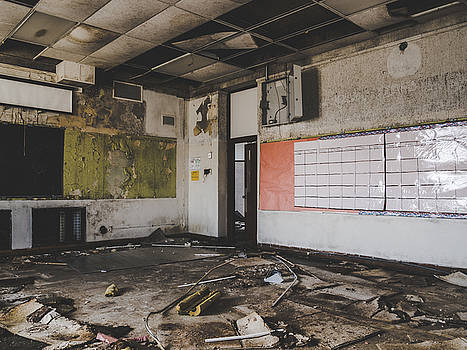 Abandoned School Classroom by Dylan Murphy