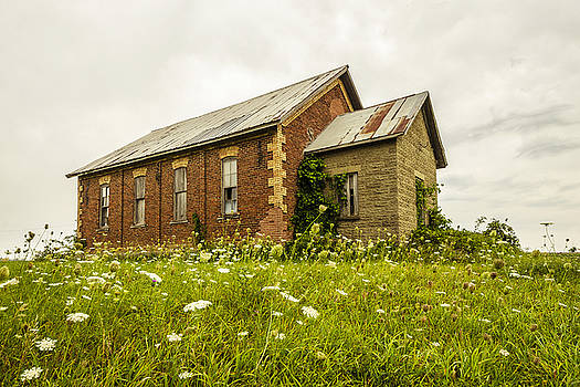 Abandoned Schoolhouse 2 by Tom Clark