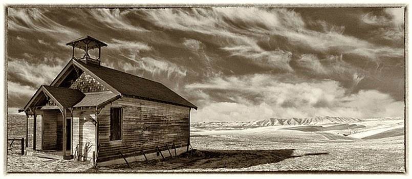 Hilltop Schoolhouse by Gej Jones