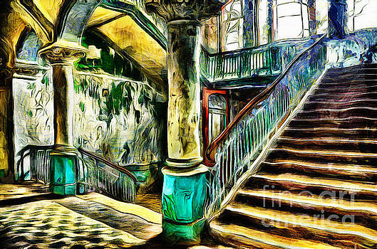 Abandoned Stairs by Milan Karadzic