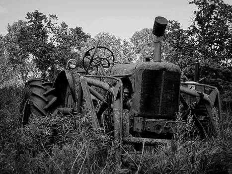 Kyle West - Abandoned Tractor