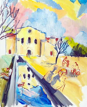 Abbaye de Silvacane afterDufy by Chris Walker