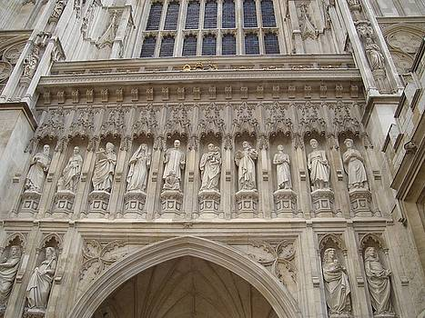 Abbey Facade by Kimberly Hill