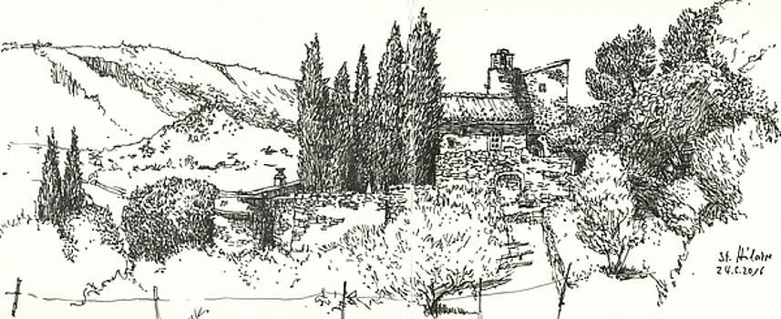 Martin Stankewitz - Abbey Saint Hilaire near Menerbes,Luberon,France