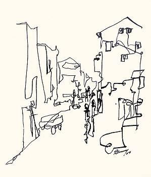 Abdul Rehman Street-Mumbai by Daniel David Talegaonkar